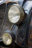 Detail of the oldtimer DKW Schwebeklasse Stock Photo