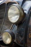 Detail of the oldtimer DKW Schwebeklasse Stock Photo