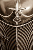 Detail of the oldtimers Ford Eifel. Royalty Free Stock Photos