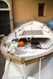 detail of one boats n manarola village Royalty Free Stock Photos