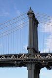 Pillar manhattan bridge Royalty Free Stock Images