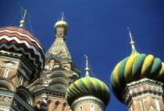 Detail, onion domes Royalty Free Stock Photos