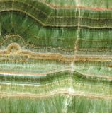 Detail of an onyx crystal. Scanned detail of a transparent green onyx crystal royalty free stock photography