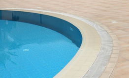 Detail of open air swimming pool Stock Image