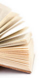 Detail of open book Royalty Free Stock Image