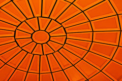 Detail of a Orange Dome Royalty Free Stock Photos