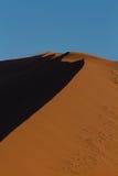 Detail of an orange sand dune Stock Photo