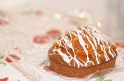 detail of oranget cake royalty free stock images