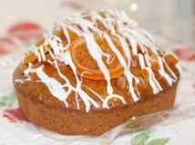 detail of oranget cake royalty free stock photography
