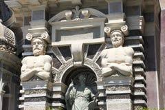 The detail of Organ Fountain in Tivoli Stock Photography
