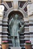 Detail of the Organ Fountain, Villa d`Este, Tivoli, Italy Stock Photography