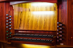 Detail of the organ Royalty Free Stock Images