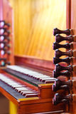Detail of the organ Royalty Free Stock Photography