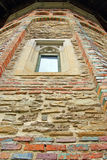 Detail of an orthodox church brickwall Royalty Free Stock Photography