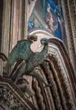 Detail of Orvieto Cathedral Duomo di Orvieto, Umbria, Italy Royalty Free Stock Image