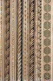 Detail of Orvieto Cathedral Duomo di Orvieto, Umbria, Italy Stock Images