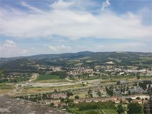 Orvieto, Umbria, Italy royalty free stock images