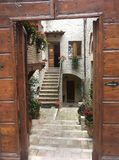 Orvieto, Umbria, Italy stock images