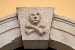 Detail of Ossuary Entrance Royalty Free Stock Image