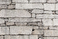 Detail outdoor stone wall Stock Photography