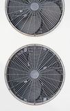 Detail of the outside unit of air conditioning mac Stock Image