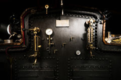Detail on an paddle steamer Royalty Free Stock Images