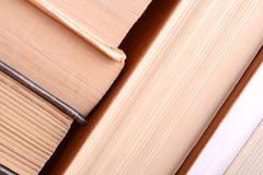 Detail of pages of an old book Stock Photos