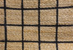 Detail of Paid Pattern of Basket Weave Texture Royalty Free Stock Photos
