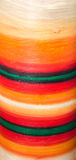 Detail of a painted vase, vivid colored texture Stock Photo