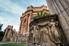 Detail of the Palace of Fine Arts - San Francisco, California, USA Stock Image