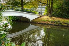 Detail of the Palace Park in Apeldoorn near `t Loo. Royalty Free Stock Images