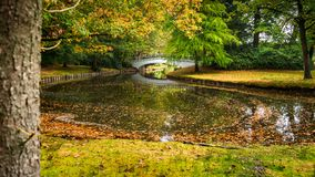 Detail of the Palace Park in Apeldoorn near `t Loo. One of the m Royalty Free Stock Photos