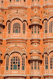 Detail of Palace of the Winds, Jaipur India. The intricate detail of the stunning architecture of the Palace of the Winds in Jaipur, India Royalty Free Stock Photos