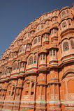 Detail of Palace of the Winds, Jaipur India. Royalty Free Stock Image