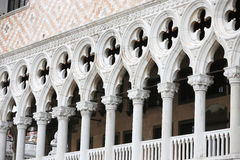 Detail of Palazo Ducale architecture Stock Images