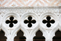 Detail of Palazo Ducale exterior Royalty Free Stock Images