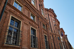 Detail of Palazzo Carignano, Turin, Italy Royalty Free Stock Photos