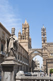 Detail of Palermo cathedral Stock Photography