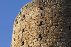 Detail of Pals tower Royalty Free Stock Photography