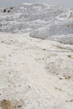 Detail of Pamukkale calcium relief Royalty Free Stock Photos