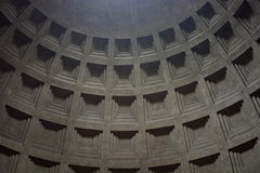 Detail of the Pantheon dome. Roma, Italy Stock Photography