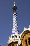 Detail in the park Guell Stock Photo