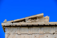 A detail of the Parthenon Stock Photos