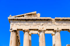 A detail of the Parthenon Royalty Free Stock Photography