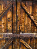 Detail of a particular gate Royalty Free Stock Photography