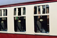 Detail of passenger railway Carriage Royalty Free Stock Images