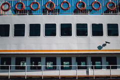 Detail from a passenger ship Stock Photography