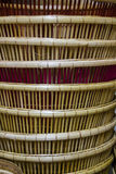 Detail of pattern  basketwork Stock Photo