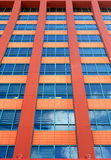 Detail pattern of building facade Royalty Free Stock Photo