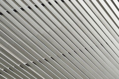 Detail of pattern metal facade Stock Photography